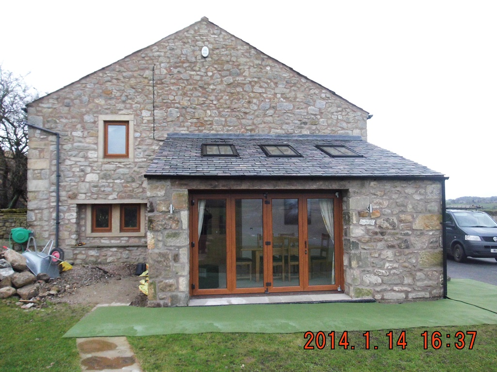 Extension & Bi-Fold Door - Aire Valley Glass
