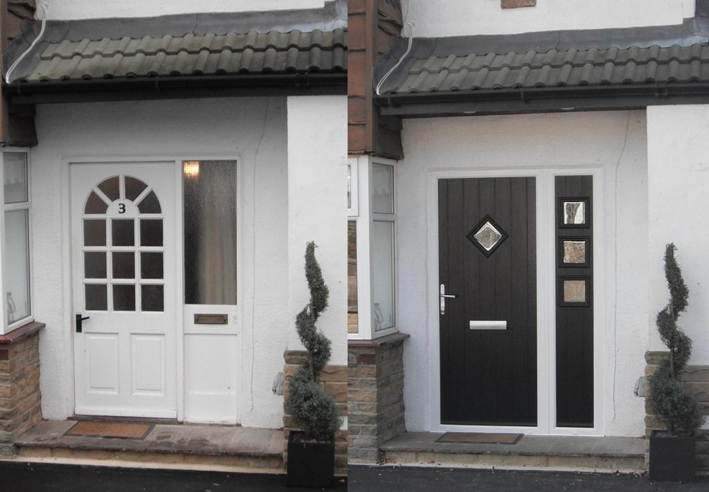 Solidor Composite Door Before Amp After Aire Valley Glass